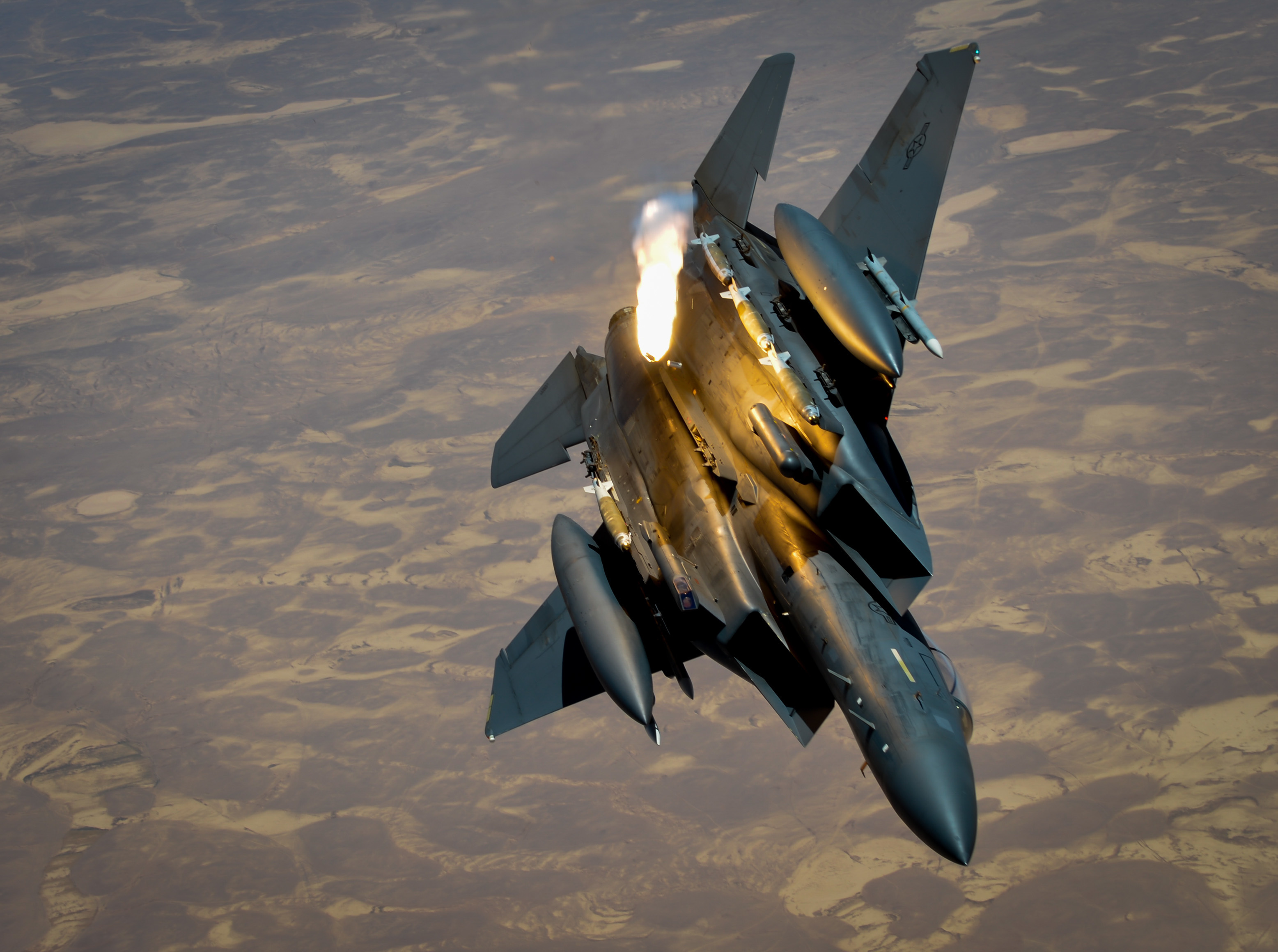 KC-135s support U.S., coalition partners - F-15 facts