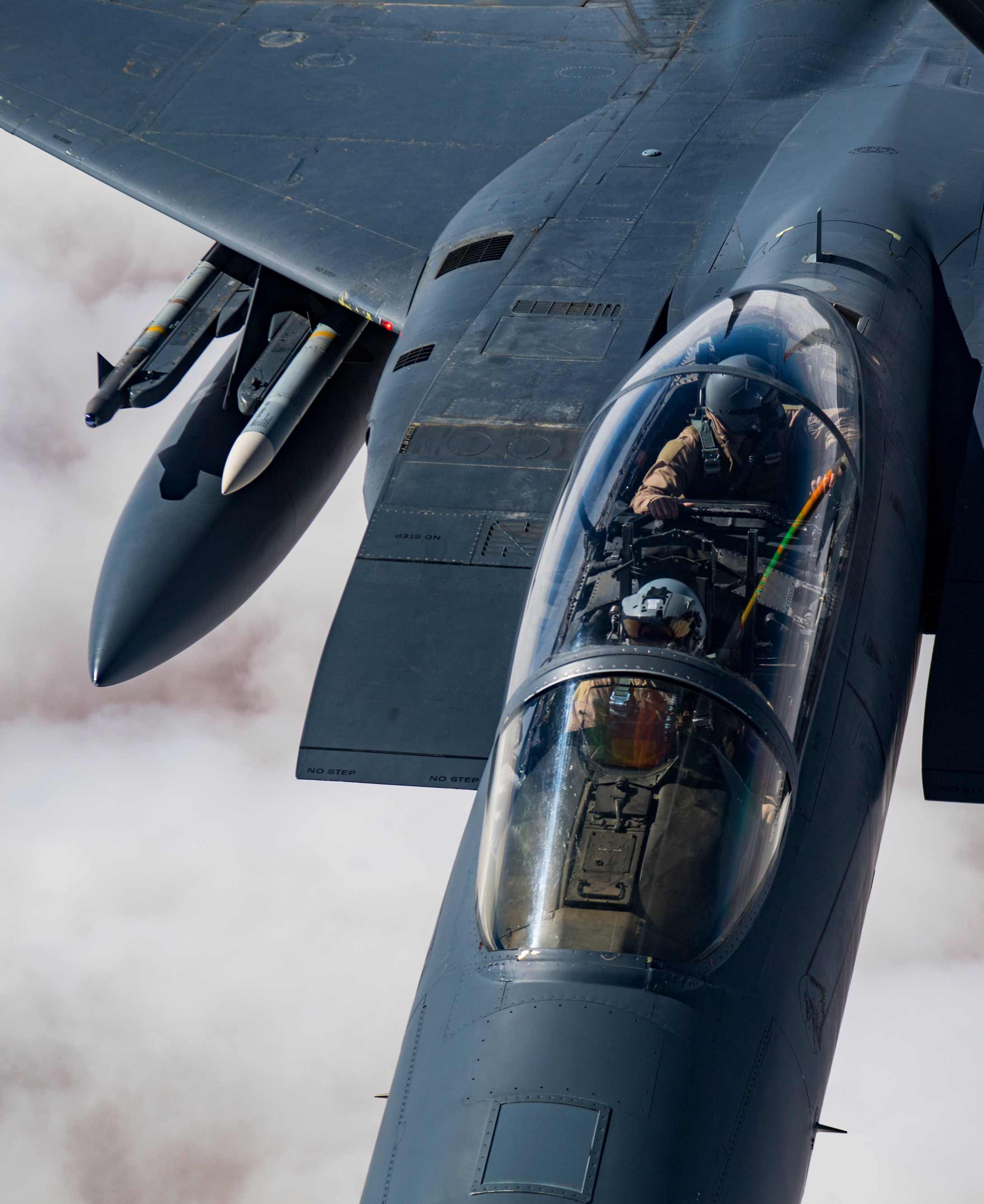 F-15 cockpit, F-15 facts
