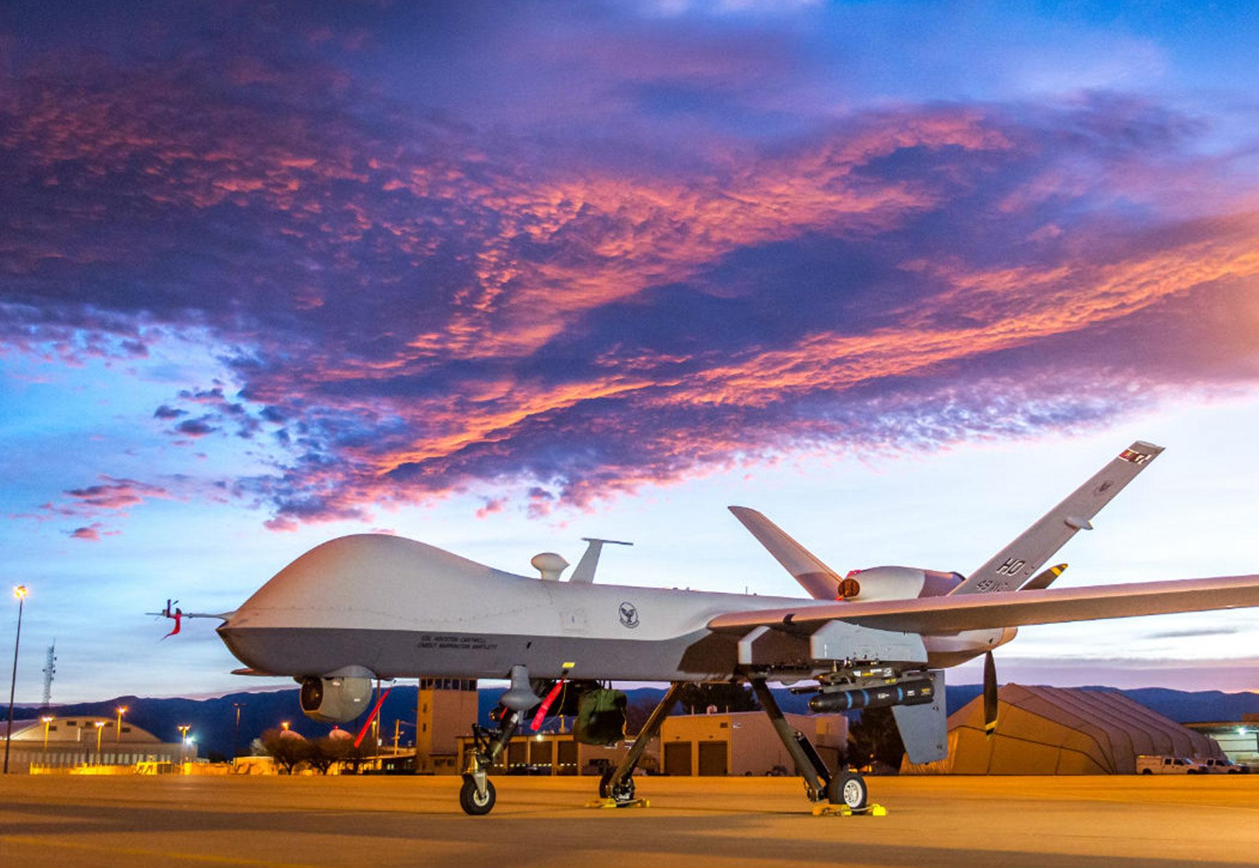 MQ-9 Reaper • Sunrise Shoot • Creech Air Force Base, Nevada USA