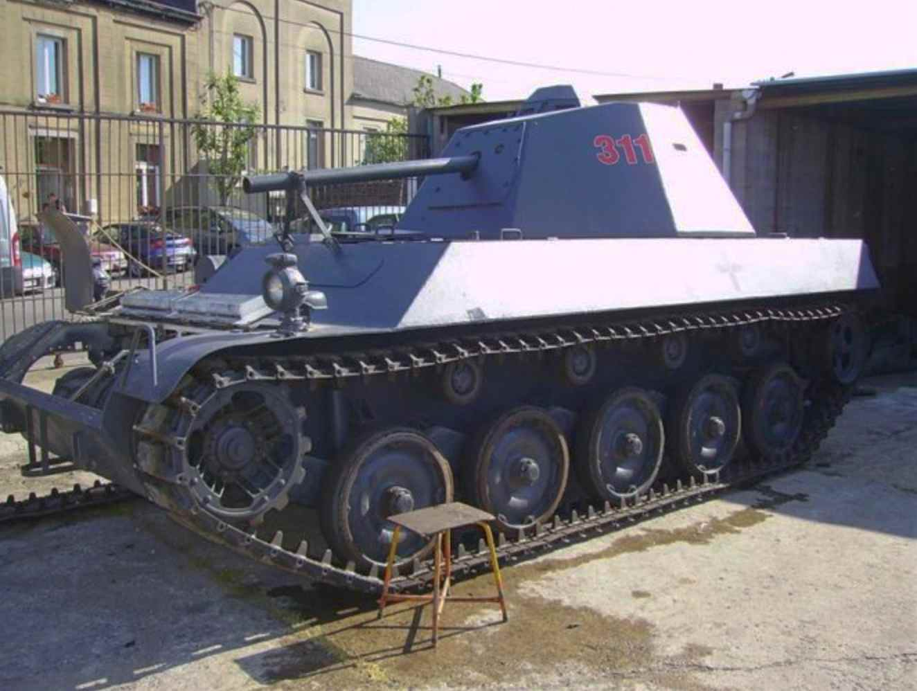 Mowag Pirat, tanks for sale to civilians