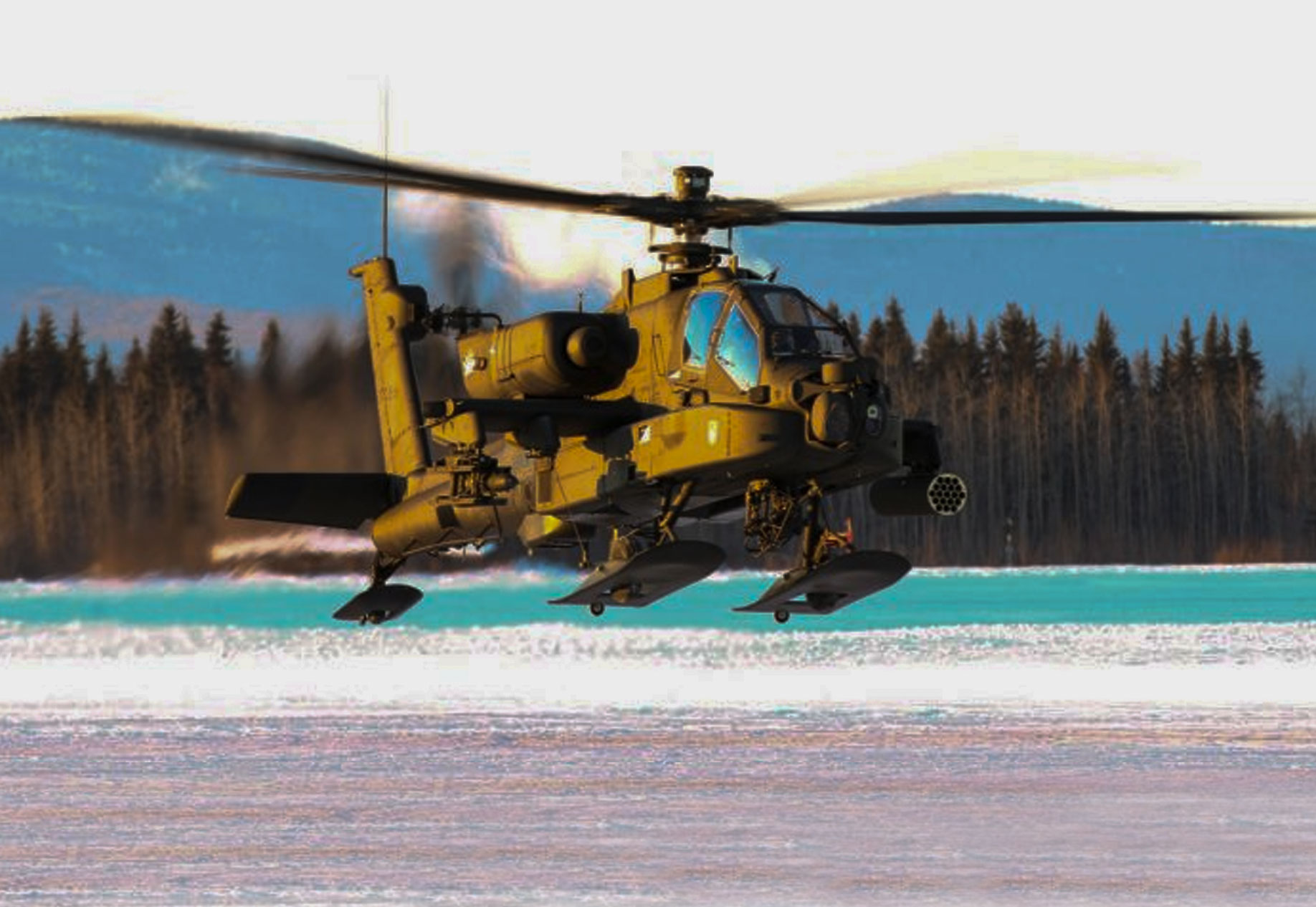 Powerful Images Of The AH-64 Apache Attack Helicopter