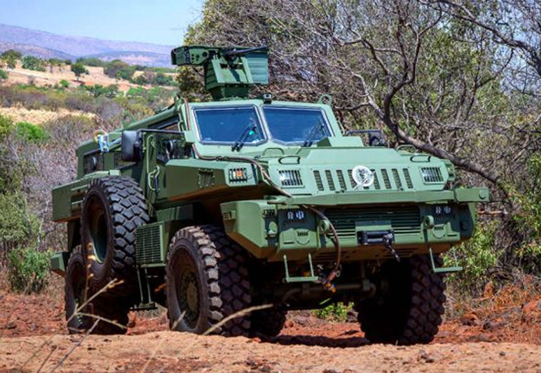 South Africa's Paramount Marauder Armored Vehicle| Military