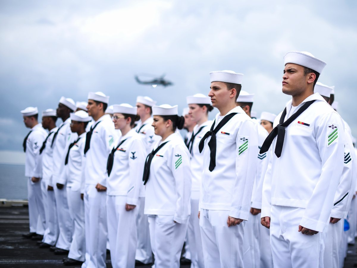 US Navy uniforms
