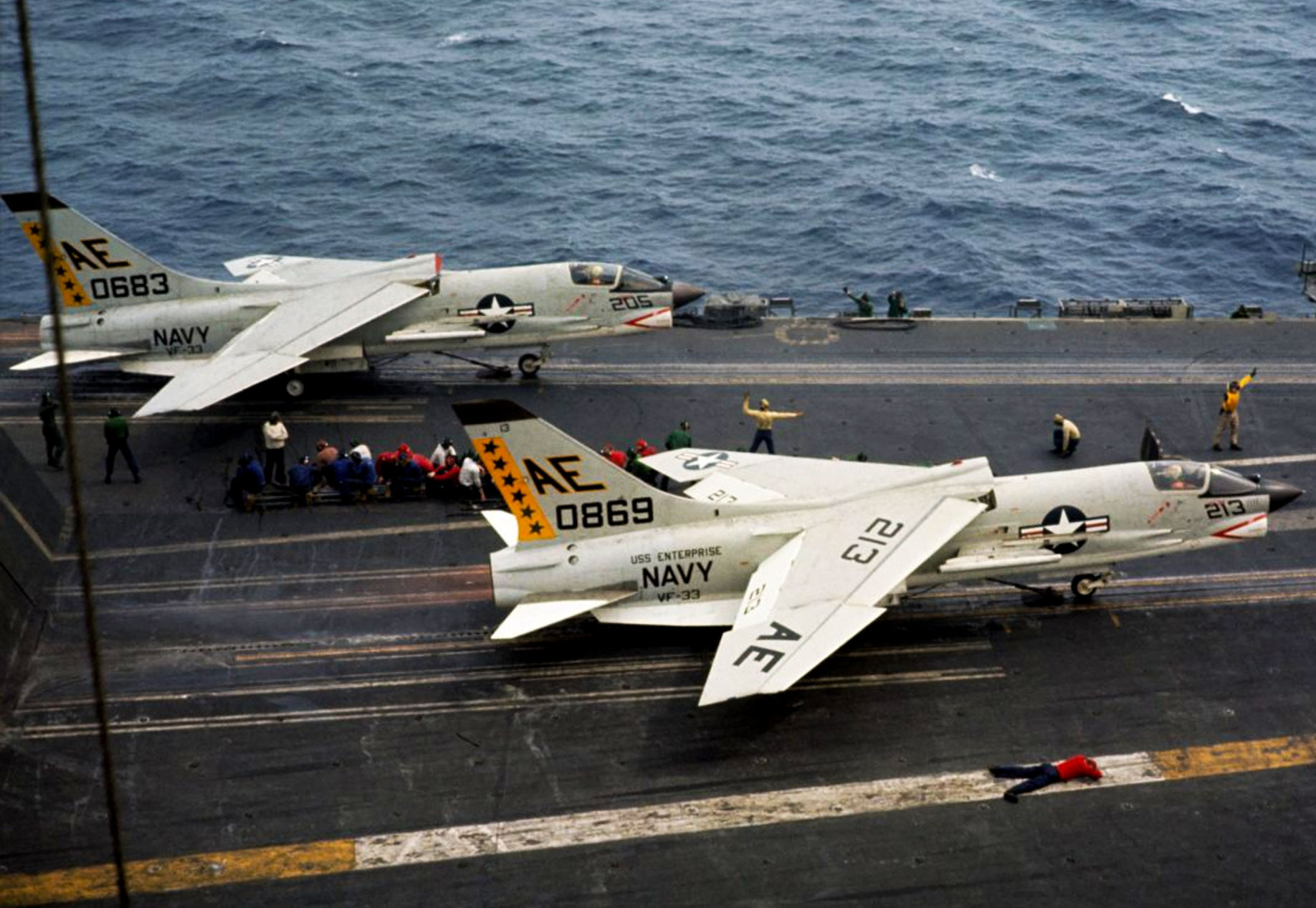Vought F-8 Crusader Jet Fighter | Military Machine