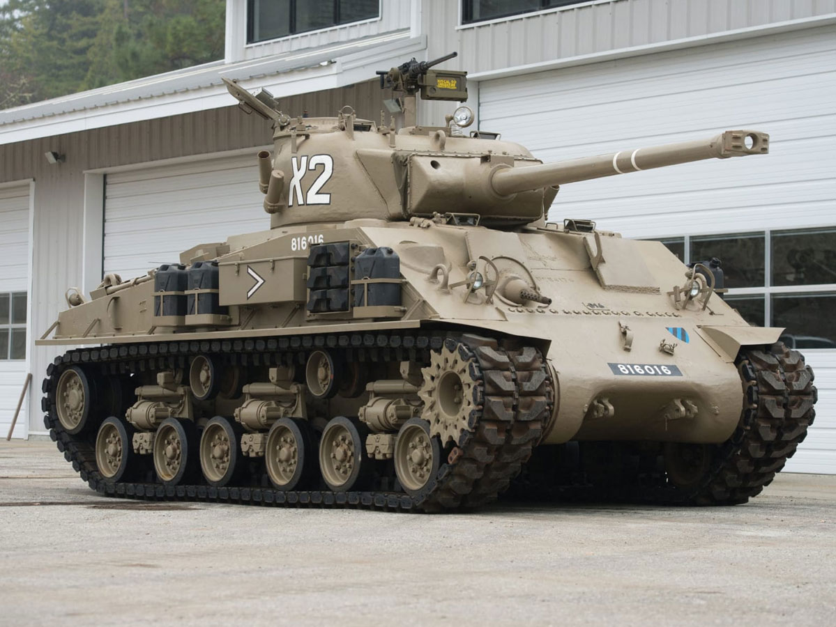 Israeli Sherman On Sale At Auction