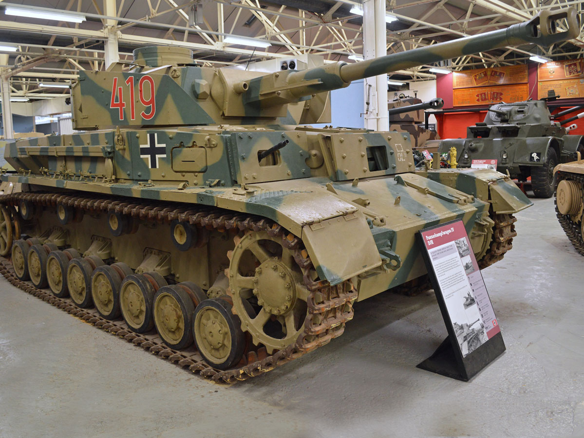 Panzerkampfwagen IV At The Tank Museum website