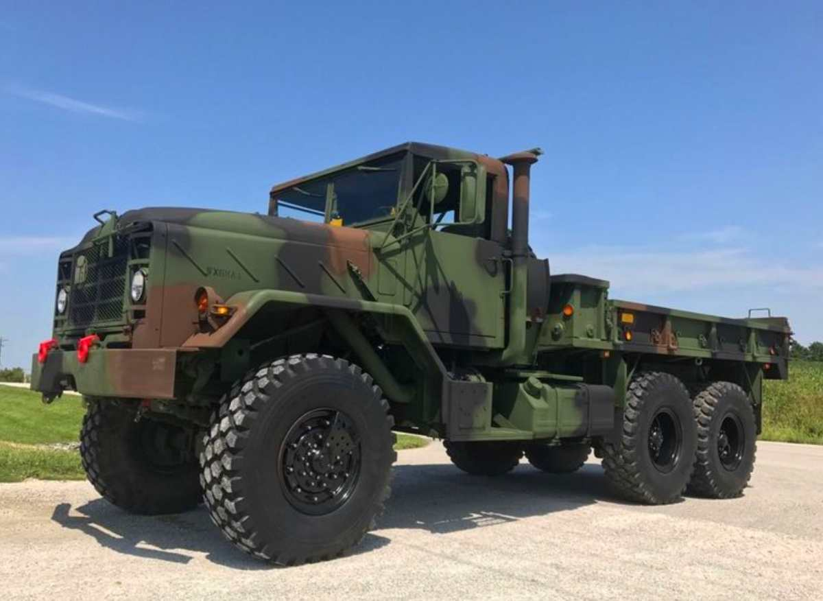 Turnkey BMY M923A2 5-ton 6x6, fully loaded and ready to go.