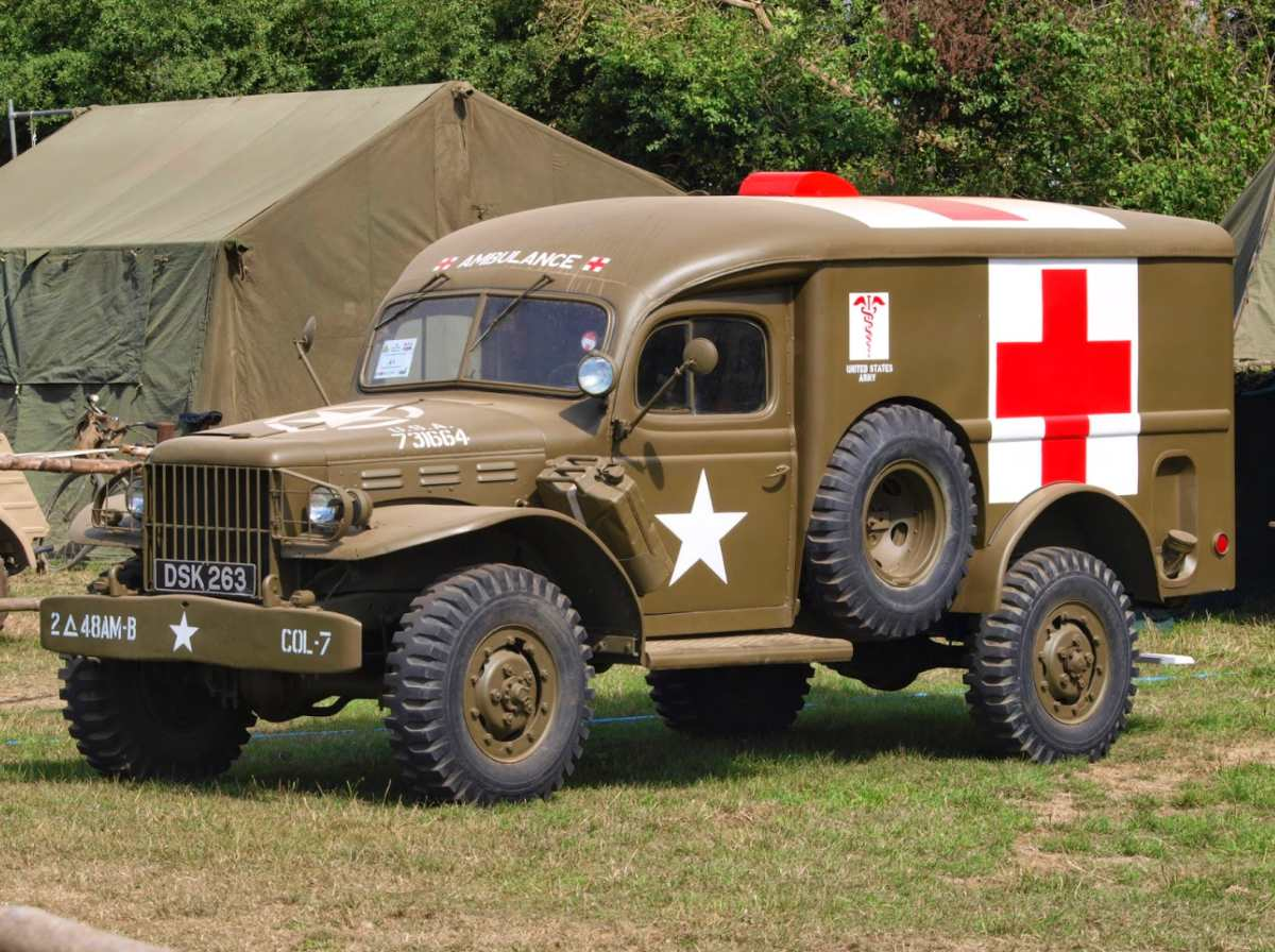 Dodge WC-54 Ambulance