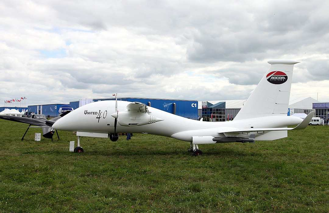 Yabhon United 40 at an airshow in Russia in 2013.
