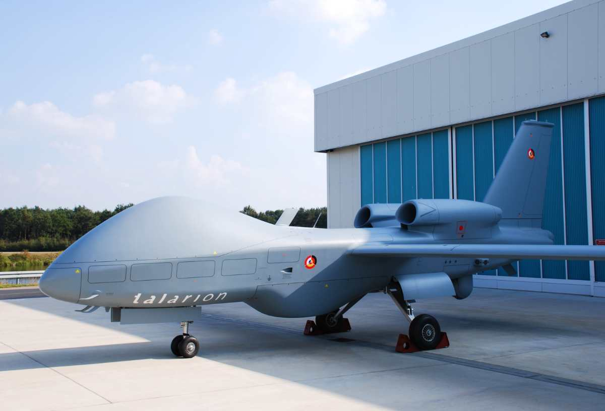 The EADS Talarion is a Medium-altitude long-endurance unmanned aerial vehicle (MALE UAV), designed by EADS , to meet future European military needs for aerial reconnaissance, military intelligence, and aerial surveillance.