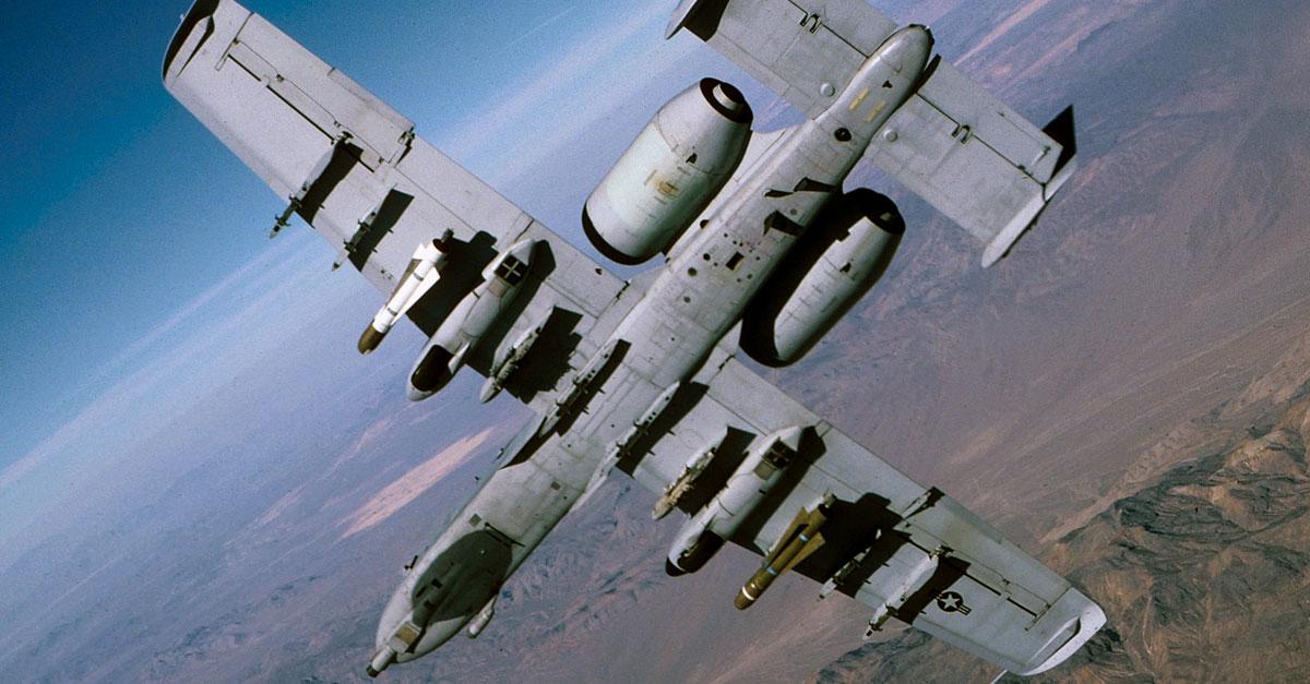 A-10 Warthog Underbelly