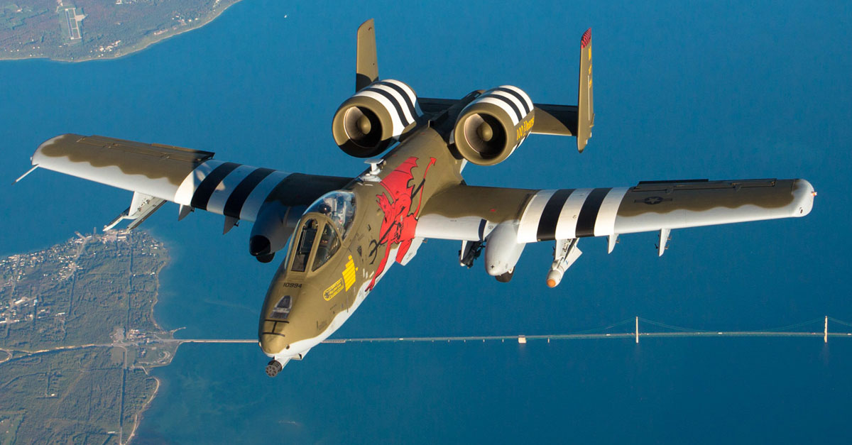 A-10 Thunderbolt Painted