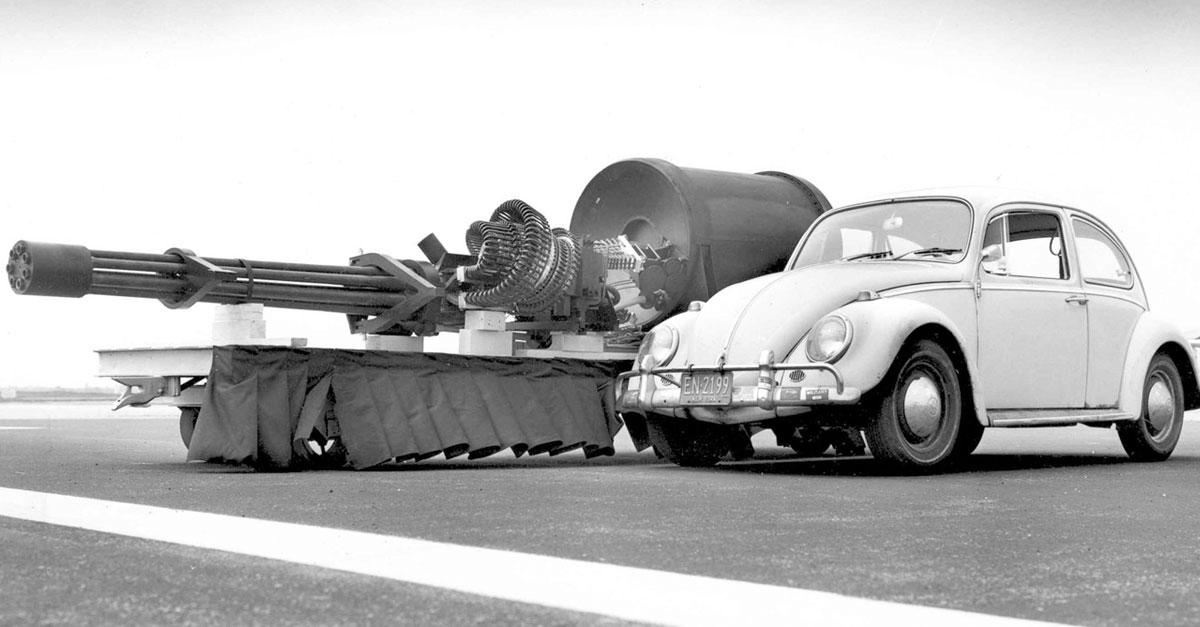 A-10 Warthog Gatlin Gun