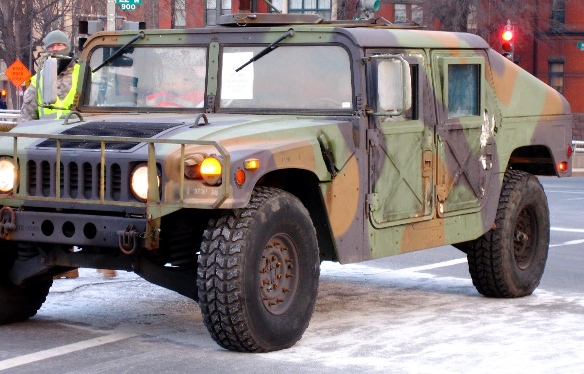 Humvee doors, Humvee facts