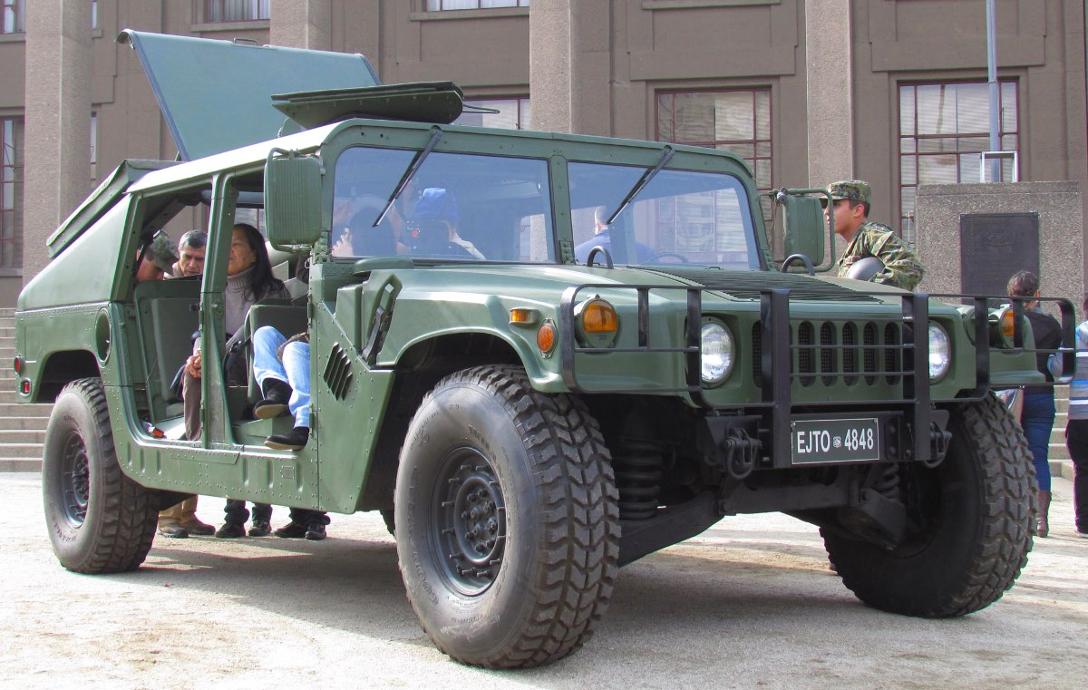 Humvee facts, Humvee dimension
