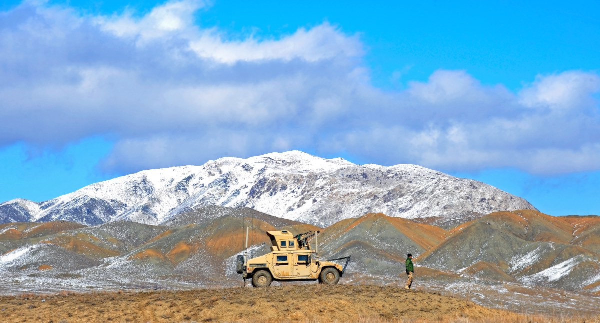 Humvee facts, Humvee in mountains