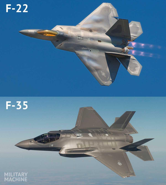f22 vs f35